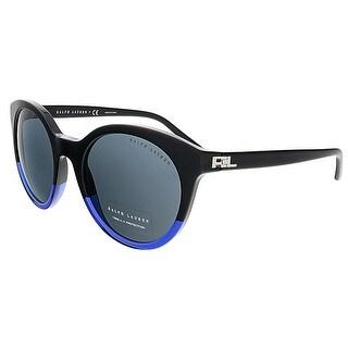 Polo Ralph Lauren RL8138 558287 Black Gradient Blue Round sunglasses - 54-22-140