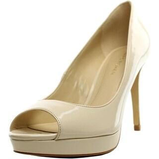 Marc Fisher Byanka 2 Women Peep-Toe Synthetic Heels