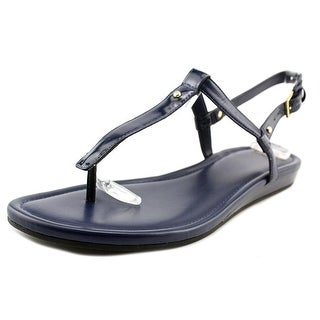 Cole Haan Boardwalk Thong Open Toe Patent Leather Thong Sandal