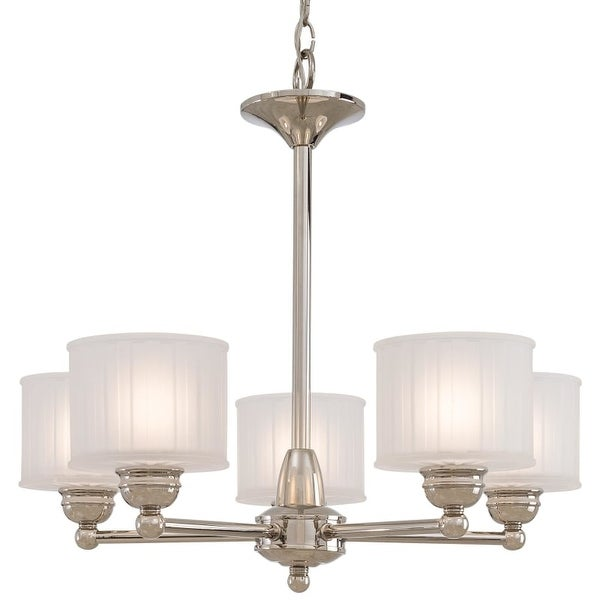 Minka Lavery ML 1735 5 Light 1 Tier Mini Chandelier from the 1730 Series Collection