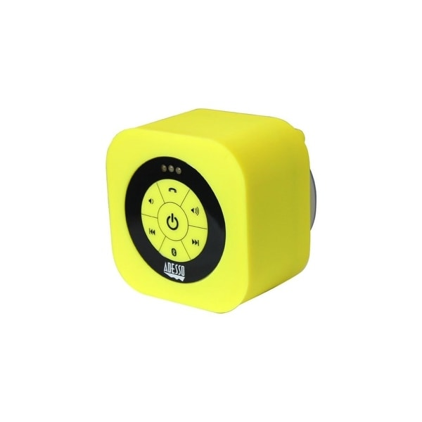 Adesso XTREAMS1Y Adesso Xtream Xtream S1Y Speaker System - Wireless Speaker(s) - Yellow - 150 Hz - 20 kHz - 30 ft - Bluetooth -