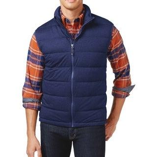 32 Degrees Heat NEW Navy Blue Mens Size Medium M Full-Zip Vest Jacket