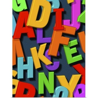 """alphabet"" Poster Print"