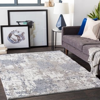 Link to Porch & Den Meier Abstract Plush Area Rug Similar Items in Rustic Rugs