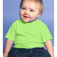 Rabbit Skins 3401 Infant Cotton T-Shirt - Key Lime, Size 6