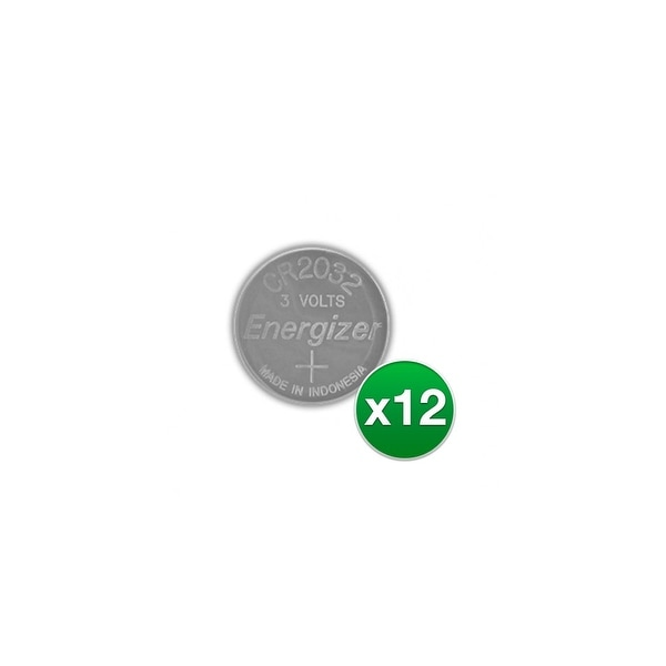 Replacement Battery for Energizer CR2032VP 2Pack (12-Pack) Replacement Battery