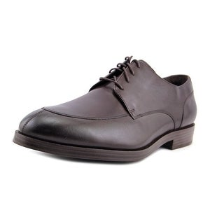 Cole Haan Henry Grand Men  Round Toe Leather Brown Oxford