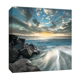 """PTM Images 9-147779  PTM Canvas Collection 12"""" x 12"""" - """"California Dreaming"""" Giclee Beaches Art Print on Canvas"""