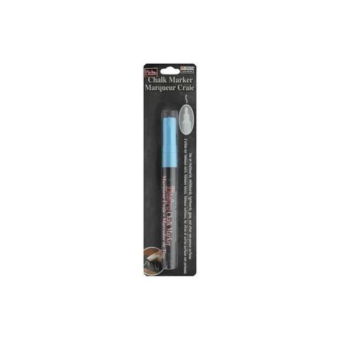 Uchida Bistro Chalk Marker Fine Card Fluor Lt Blue