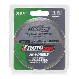 "RotoZip RZDIA1 Dry Diamond Blade 3-1/2"""