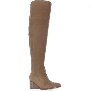 Marc Fisher Escape Over The Knee Wide Calf Boots - Medium Brown