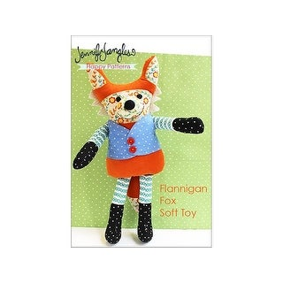 Jennifer Jangles Flannigan Fox Soft Toy Ptrn