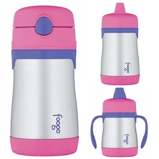 Thermos Foogo Insulated Sippy Cup and Drink Bottle for Toddlers