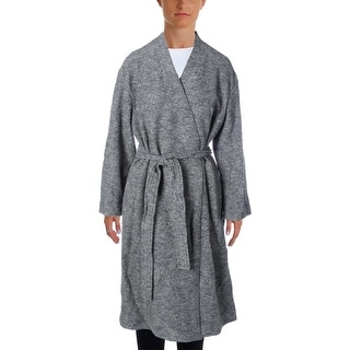 Pure DKNY Womens Trench Coat Wool Tunic
