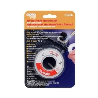 Alpha 32406 Non Electrical Repair Acid Core Solder, 4 Oz
