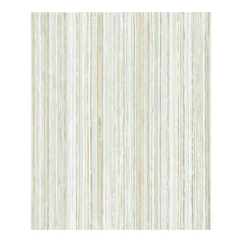 Grace Blue Stripe Wallpaper - 21 x 396 x 0.025