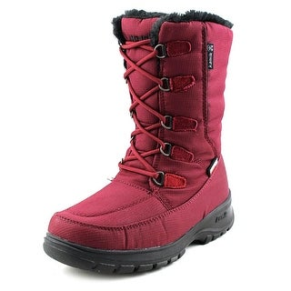 Kamik Brooklyn Women Round Toe Synthetic Burgundy Snow Boot