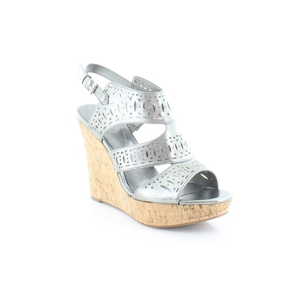 Guess Vannora Women's Sandals Pewter