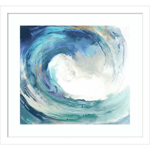Water Collar (Wave) by PI Gallerie Framed Wall Art Print