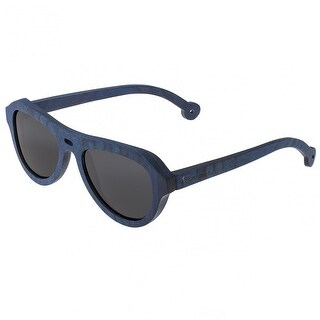 Spectrum Machado Unisex Wood Sunglasses - 100% UVA/UVB Prorection - Polarized Lens - Multi