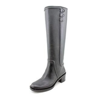 Enzo Angiolini Gregie Round Toe Leather Knee High Boot