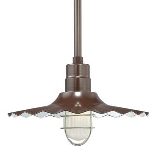 "Millennium Lighting RRWS18 R Series 1 Light 18"" Wide Outdoor Shade (More options available)"