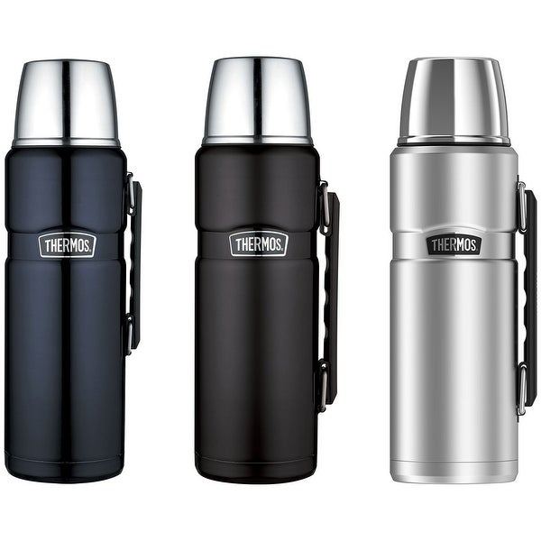 Thermos 40 oz. Stainless King Vacuum Insulated Stainless Steel Beverage Bottle - 40 oz.