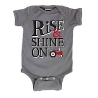Rise And Shine-Case Ih Infant One Piece