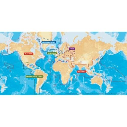 Lowrance MSD/NAVPLUSNI Navionics Flexible Coverage - MSD Global Regions