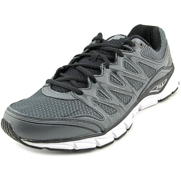 Fila Excellarun Men Round Toe Synthetic Gray Running Shoe