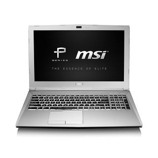 Msi Notebook Pl60 7Rd-013 15.6 Inch Core I7-7500U Geforce Gtx 1050 8Gb 1Tb Windows10 Aluminum Silver Retail