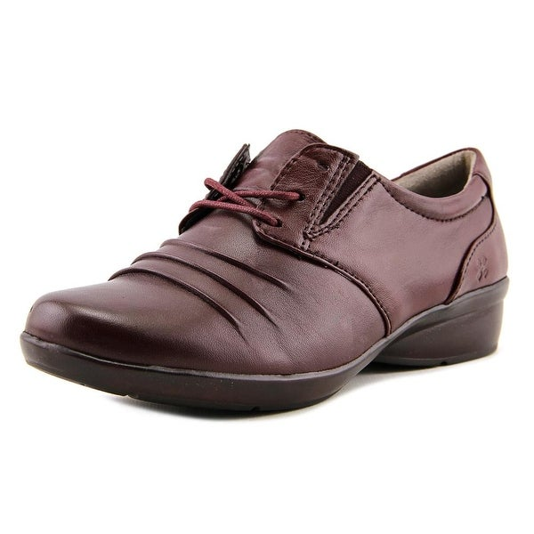 Womens Shoes Naturalizer Carly Oxford Brown Leather