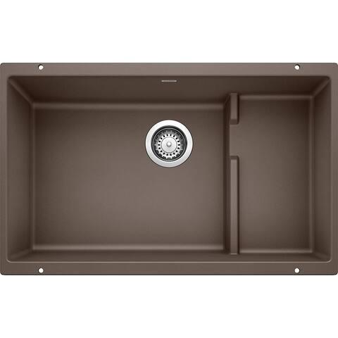 "Blanco Precis 18.125-In X 28.75-In Single-Basin Granite Undermount Kitchen Sink - 28.75"" x 18.13"" x 8"""