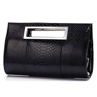 Women PU Alligator Leather Handbag Famous Brand Lady Party Evening Day Clutches Tote Bag Shoulder Bag with Belt