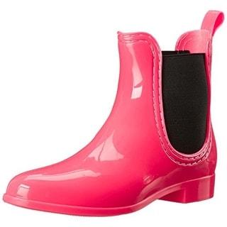 Bootsi Tootsi Womens Rubber Pull On Rain Boots