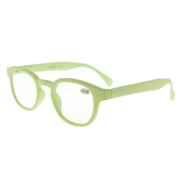 Eyekepper Stain Rainbow Reading Glasses (Light Green, +2.25)
