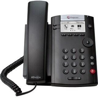 Polycom 201 IP Phone - Cable - Wall Mountable, Desktop - Black - (Refurbished)