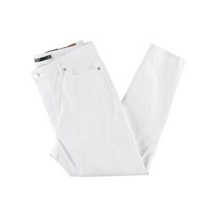 Lauren Ralph Lauren Womens Skinny Crop Jeans High Rise Five Pocket