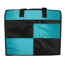 Memory Stor Portable Scrapbook Organizer Case in Blue