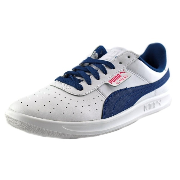5f6efcf3d97 Shop Puma G. Vilas 2 Youth Round Toe Leather White Sneakers - Free ...