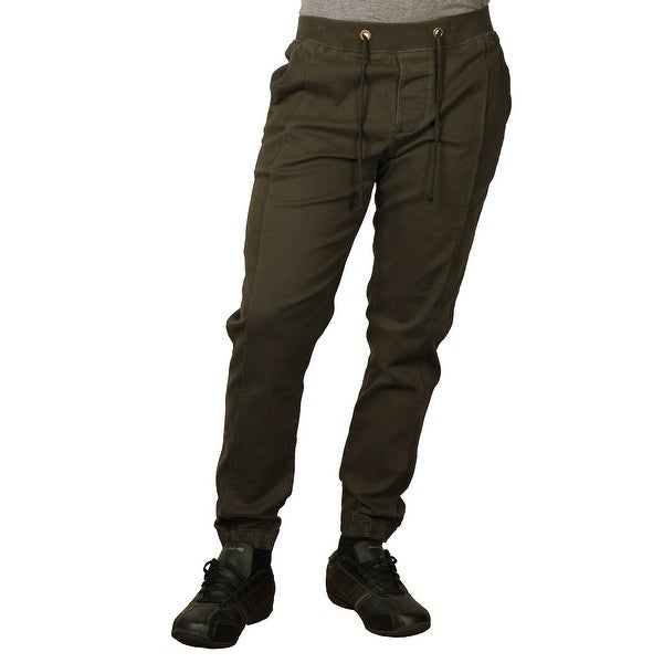 One Tough Brand Men's Brushed Stretch-Twill Jogger Pant