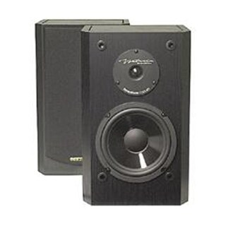 BIC America 6 Inch 2-Way Shielded 150-Watt Bookshelf Speakers DV-62SIB