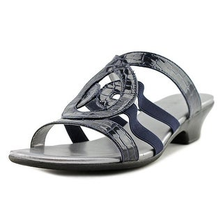 Karen Scott Womens Emmee Open Toe Casual Slide Sandals