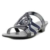 Karen Scott Womens Emmeer Open Toe Casual Slide Sandals
