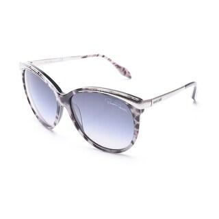 Roberto Cavalli Women's Giunchiglia Sunglasses Silver - Small