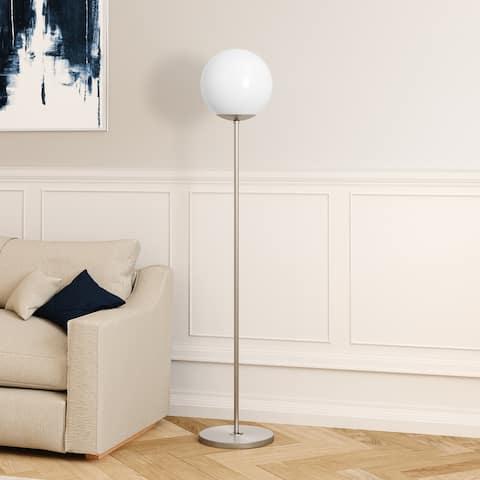 Theia Glam Modern Globe Shade Floor Lamp