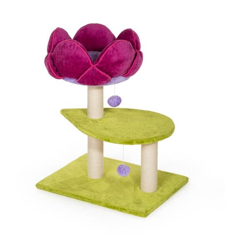 Prevue Pet Products Kitty Power Paws Flower Power 7320
