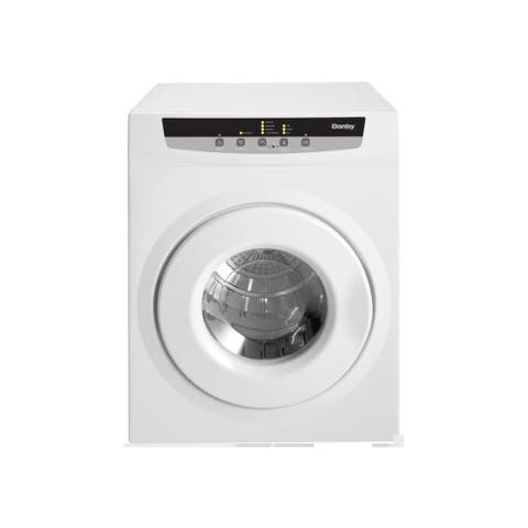 "Danby DDY060DB 24"" Wide 4.32 Cu. Ft. Capacity Electric Dryer - White"