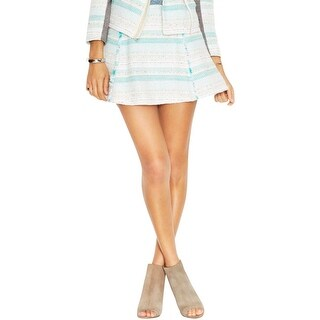 Rachel Rachel Roy Womens Flare Skirt Knit Mini