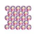 Swarovski Elements Crystal, Round Flatback Rhinestone Hotfix SS20 4.6mm, 50 Pieces, Light Siam AB - Thumbnail 0